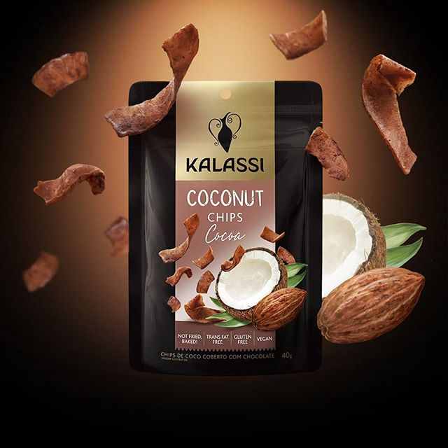 Coconut Chips Cocoa Kalassi 40gr